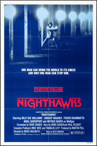 "Nighthawks & Other Lot (Universal, 1981). Folded and Rolled, Very Fine. One Sheets (3) (27"" X 41"", 26..."