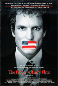The People vs. Larry Flynt & Other Lot (Columbia/Tristar, 1996). Rolled and Folded, Very Fine-. One Sheets (4) (...