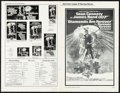 """Movie Posters:James Bond, Diamonds are Forever & Other Lot (United Artists, 1971). Folded, Very Fine. Uncut Pressbook (8 Pages, 11"""" X 17"""") & Programs ... (Total: 4 Items)"""