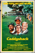 "Movie Posters:Comedy, Caddyshack (Orion, 1980). Rolled, Fine+. One Sheet (27"" X 41"").Comedy.. ..."