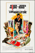 "Movie Posters:James Bond, Live and Let Die (United Artists, 1973). Folded, Very Fine. OneSheet (27"" X 41""). Robert McGinnis Artwork. James Bond.. ..."