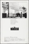 "Movie Posters:Comedy, Manhattan (United Artists, 1979). Rolled, Fine/Very Fine. One Sheet(27"" X 41"") Style B. Comedy.. ..."