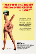 "Movie Posters:Comedy, MASH (20th Century Fox, 1970). Folded, Fine/Very Fine. One Sheet(27"" X 41""). Comedy.. ..."