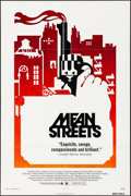 """Movie Posters:Crime, Mean Streets (Warner Brothers, 1973). Folded, Very Fine-. One Sheet (27"""" X 41""""). Crime.. ..."""