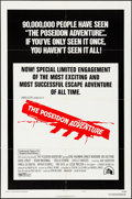 "Movie Posters:Action, The Poseidon Adventure (20th Century Fox, 1972). Folded, VeryFine-. One Sheet (27"" X 41"") Style B. Action.. ..."