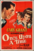 """Movie Posters:Comedy, Once Upon a Time (Columbia, 1944). Folded, Fine+. One Sheet (27"""" X 41"""") Style A. Comedy.. ... (Total: 2 Items)"""