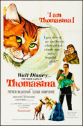 "Movie Posters:Drama, The Three Lives of Thomasina & Other Lot (Buena Vista, 1964). Folded, Overall: Very Fine-. One Sheets (2) (27"" X 41""). Paul ... (Total: 2 Items)"
