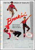 """Movie Posters:Musical, Breakin' & Other Lot (MGM, 1984). Folded, Very Fine/Near Mint. Printer's Proof One Sheet (28"""" X 41"""") & One Sheet (27"""" X 40.7... (Total: 2 Items)"""