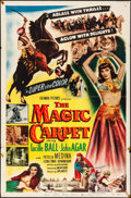 "Movie Posters:Adventure, The Magic Carpet (Columbia, 1951). Folded, Fine/Very Fine. OneSheet (27"" X 41""). Adventure.. ..."