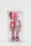 Collectible:Contemporary, KAWS (b. 1974). Flayed Companion (Blush), 2016. Painted cast vinyl. 10-1/2 x 4-1/2 x 2-1/2 inches (26.7 x 11.4 x 6.4 cm)...