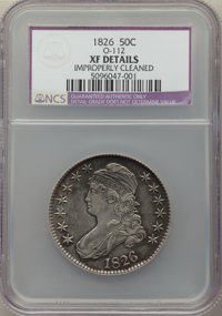 1826 50C O-112, High R.4, -- Improperly Cleaned -- NCS. XF Details. NGC Census: (0/24). PCGS Population: (1/18). XF40...