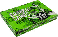 1975 Topps Baseball Cello Box with 24 Unopened Packs - Brett and Yount Rookie Year!