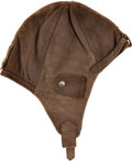Football Collectibles:Others, 1985-86 Bill Murray Aviator Hat Worn During Chicago Bears NFL Championship Game. ...
