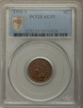 1908-S 1C AU55 PCGS Gold Shield. PCGS Population: (206/630 and 0/2+). NGC Census: (146/551 and 0/2+). CDN: $190 Whsle. B...