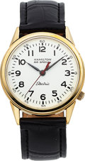 Timepieces:Wristwatch, Hamilton, Railroad 52 Electric, 10K Yellow Gold Filled, Ci...