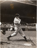 Baseball Collectibles:Photos, 1938 Joe DiMaggio Original Photograph, PSA/DNA Type 1.