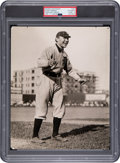Baseball Collectibles:Photos, 1908-10 Hughie Jennings Original Photograph by Charles Conlon Used for 1909-11 T-206 Card, PSA/DNA Type 1. ...