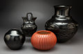 American Indian Art:Pottery, Four Southwest Pottery Vessels... (Total: 4 Items)