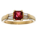 Estate Jewelry:Rings, Spinel, Diamond, Gold Ring . ...
