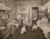 Jessie Tarbox Beals (American, 1871-1942) Lower East Side Tenement, circa 1910 Gelatin silver, printed later 6-7/8 x