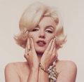 Photographs:Chromogenic, Bert Stern (American, 1929-2013). Marilyn, Hotel Bel-Air, LosAngeles, 1962. Dye coupler, 1994. 13-1/2 x 13-3/4 inches (...