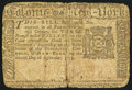 Colonial Notes:New York, New York September 2, 1775 $3 Fine.. ...