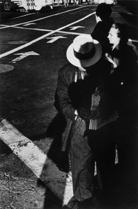 Ralph Gibson (American, b. 1939) Untitled, New York, 1962 Gelatin silver, printed later 12-1/2 x