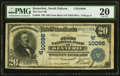 Kennebec, SD - $20 1902 Date Back Fr. 646 The First NB Ch. # (W)10098 PMG Very Fine 20
