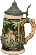 Political:3D & Other Display (1896-present), [Theodore Roosevelt]: Small Size African Safari Beer Stein....