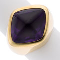 Estate Jewelry:Rings, Amethyst, Gold Ring, Paloma Picasso for Tiffany & Co.. ...