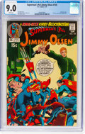 Bronze Age (1970-1979):Superhero, Superman's Pal Jimmy Olsen #135 (DC, 1971) CGC VF/NM 9.0 Whitepages....