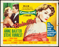 "Movie Posters:Crime, Bedevilled (MGM, 1955). Fine/Very Fine. Autographed Title LobbyCard (11"" X 14""). Crime.. ..."