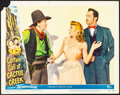 "Movie Posters:Comedy, Curtain Call at Cactus Creek (Universal International, 1950).Fine/Very Fine. Autographed Lobby Card (11"" X 14""). Comedy.. ..."
