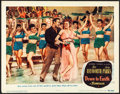 "Movie Posters:Musical, Down to Earth (Columbia, 1947). Very Fine-. Lobby Card (11"" X 14""). Musical.. ..."
