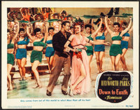 "Down to Earth (Columbia, 1947). Very Fine-. Lobby Card (11"" X 14""). Musical"
