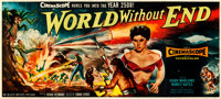 "World Without End (Allied Artists, 1956). Very Fine- on Linen. 24 Sheet (233"" X 105.5"")"