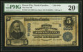 National Bank Notes:North Carolina, Forest City, NC - $5 1902 Date Back Fr. 592 The First NB Ch. # (S)9203 PMG Very Fine 20 Net.. ...