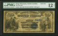 National Bank Notes:North Carolina, Kings Mountain, NC - $20 1882 Value Back Fr. 581 The First NB Ch. # (S)5451 PMG Fine 12 Net.. ...