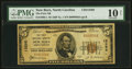 National Bank Notes:North Carolina, New Bern, NC - $5 1929 Ty. 1 The First NB Ch. # 13298 PMG Very Good 10 Net.. ...