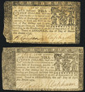 Colonial Notes:Maryland, Maryland March 1, 1770 $4 Very Fine;Marylan...