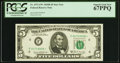 Small Size:Federal Reserve Notes, Fr. 1971-F* $5 1969B Federal Reserve Star Note. PCGS Superb Gem New 67PPQ.. ...