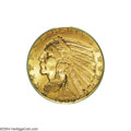 Indian Half Eagles: , 1909 $5 MS66 PCGS....