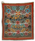 American Indian Art:Beadwork and Quillwork, A Northern Plains Beaded Cloth Panel...