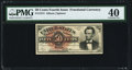 Fr. 1374 50¢ Fourth Issue Lincoln PMG Extremely Fine 40