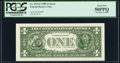 Error Notes:Third Printing on Reverse, Third Printing on Back Error Fr. 1913-F $1 1985 Federal Reserve Note. PCGS About New 50PPQ.. ...
