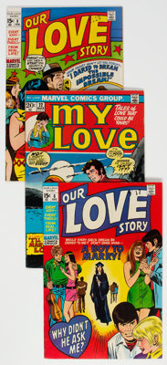 Marvel Bronze Age Romance Comics Group of 24 (Marvel, 1970-76) Condition: Average FN/VF.... (Total: 24 )
