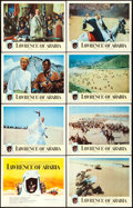 """Movie Posters:Academy Award Winners, Lawrence of Arabia (Columbia, 1962). Very Fine. Lobby Card Set of 8 (11"""" X 14""""). . ... (Total: 8 Items)"""