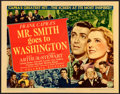 Movie Posters:Drama, Mr. Smith Goes to Washington (Columbia, 1939). Fine+ on Ca...