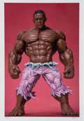 Prints & Multiples:Print, Ron English (American, b. 1959). Obama Hulk, 2012. Ink jet print in colors on cotton rag paper. 20 x 14 inches (50.8 x 3...