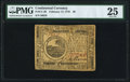 Colonial Notes:Continental Congress Issues, Continental Currency February 17, 1776 $6 PMG Very Fine 25...